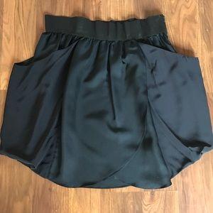 Wilfred 100% silk tulip skirt | origami style